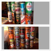 Collezionista privato cede in blocco parte sua collezione per totali 800 lattine birra diverse vuote