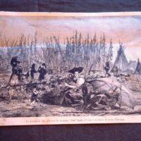 La raccolta del luppolo in Alsazia - 1880