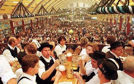 Tutto pronto a Monaco di Baviera per l'Oktoberfest 2016!