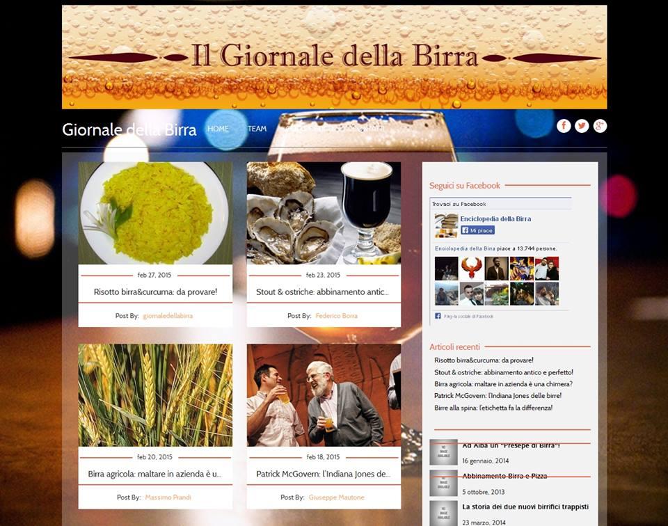 1 Maggio 2015: nasce www.giornaledellabirra.it!