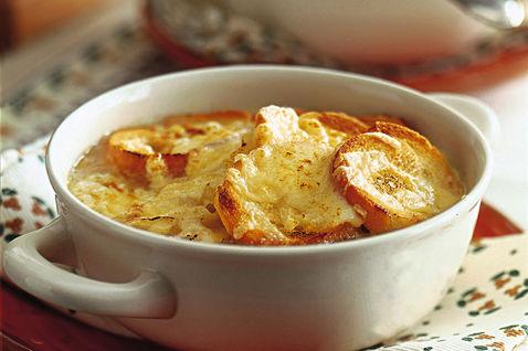 Zuppa di cipolle alla Bock