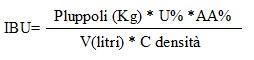 formula luppolo