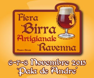 Ravenna città della birra nel prossimo week-end!