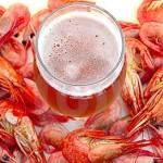 Veloce, facile e deliziosa: gamberi alla birra!