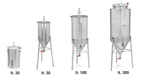 fermentatore inox