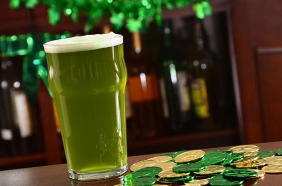 La birra di San Patrizio: dedicata al verde d'Irlanda