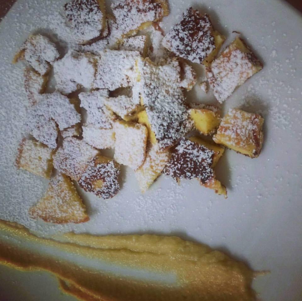 Kaiserschamarren con crema alla Weißbier