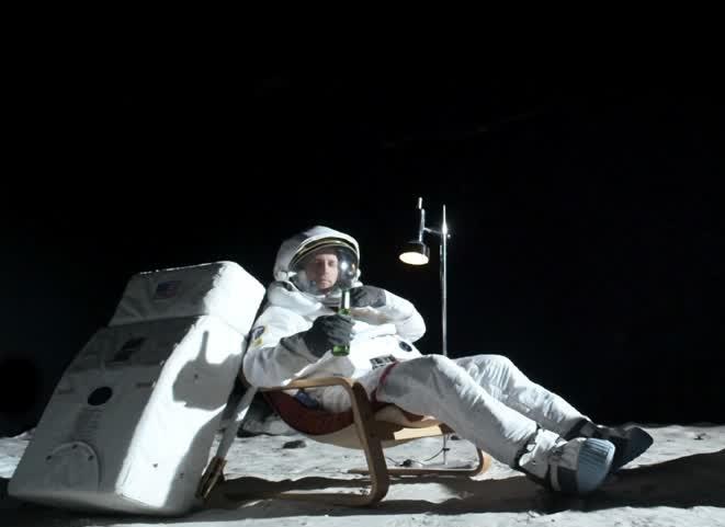 Anche nello spazio si beve birra!