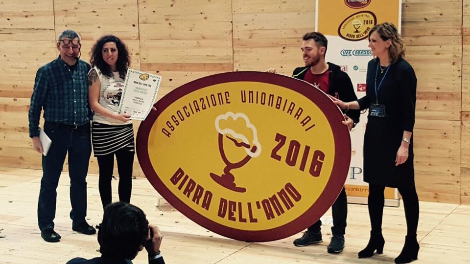 Birra dell'anno: il trionfo di Birra Perugia nelle parole del mastro birraio Luana Meola