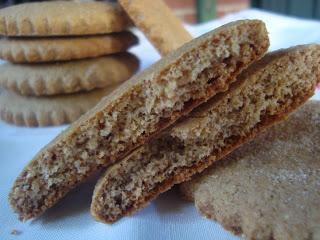 Biscotti al malto e miele