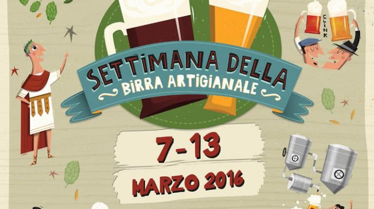 Domani debutta la Settimana della Birra artigianale 2016!