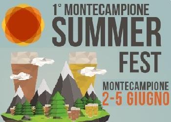 Al via la prima del Montecampione Summer Fest: festa delle birre artigianali camune!
