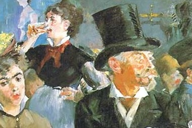 I boccali di birra, fonte di ispirazione per Manet