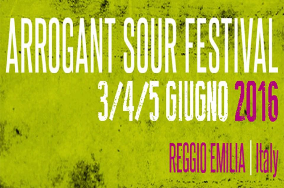 Arrogant Sour Festival: il meglio delle birre acide a Reggio Emilia