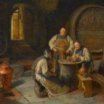 """Eduard von Grützner: il """"sommo"""" pittore di monaci e birra"""