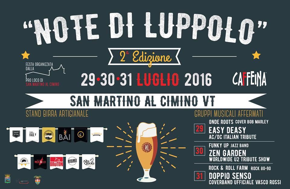 Note di Luppolo: a San Martino di Viterbo si scaldano i motori  per il festival delle birre artigianali