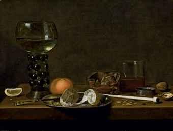 Birra nella nature morte del Barocco: la firma di Jan Jansz Van de Velde