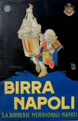 60 locandina cartone 1922 Mauzan cm. 47x34