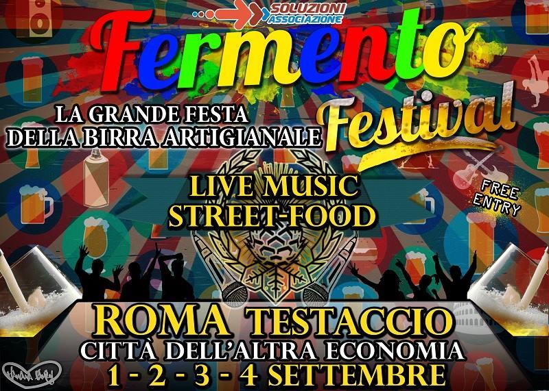1 al 4 Settembre, Roma: Fermento festival
