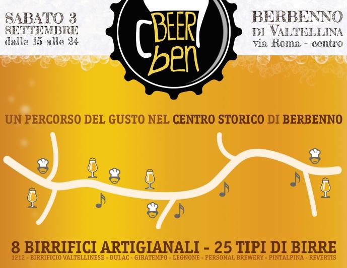 Beerben: percorso di musica e gusto, all'insegna delle birre artigianali!