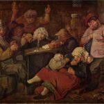 Le taverne di ubriachi nelle scene di  Brouwer
