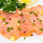 Salmone marinato all'IPA e spezie