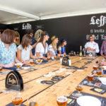Una birra con Leffe a Taste of Roma