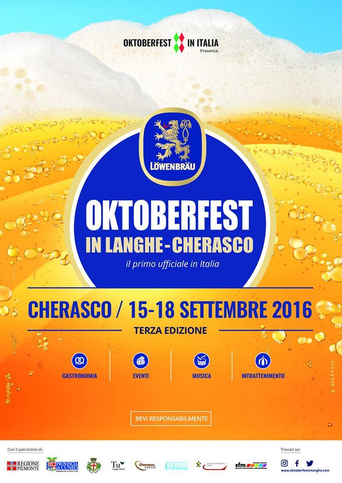 Oktoberfest in Langhe: torna la grande kermesse della birra bavarese a Cherasco!