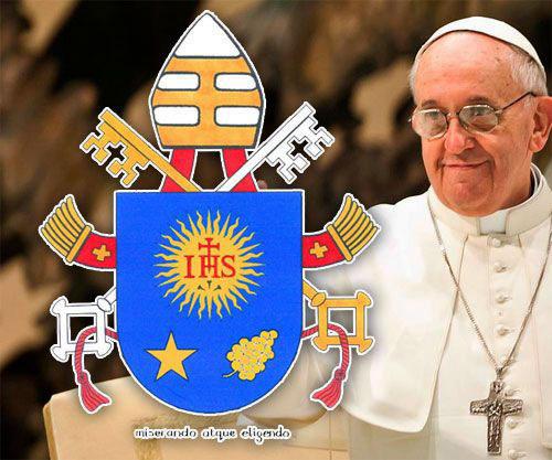 C'è del luppolo nello stemma del Papa?