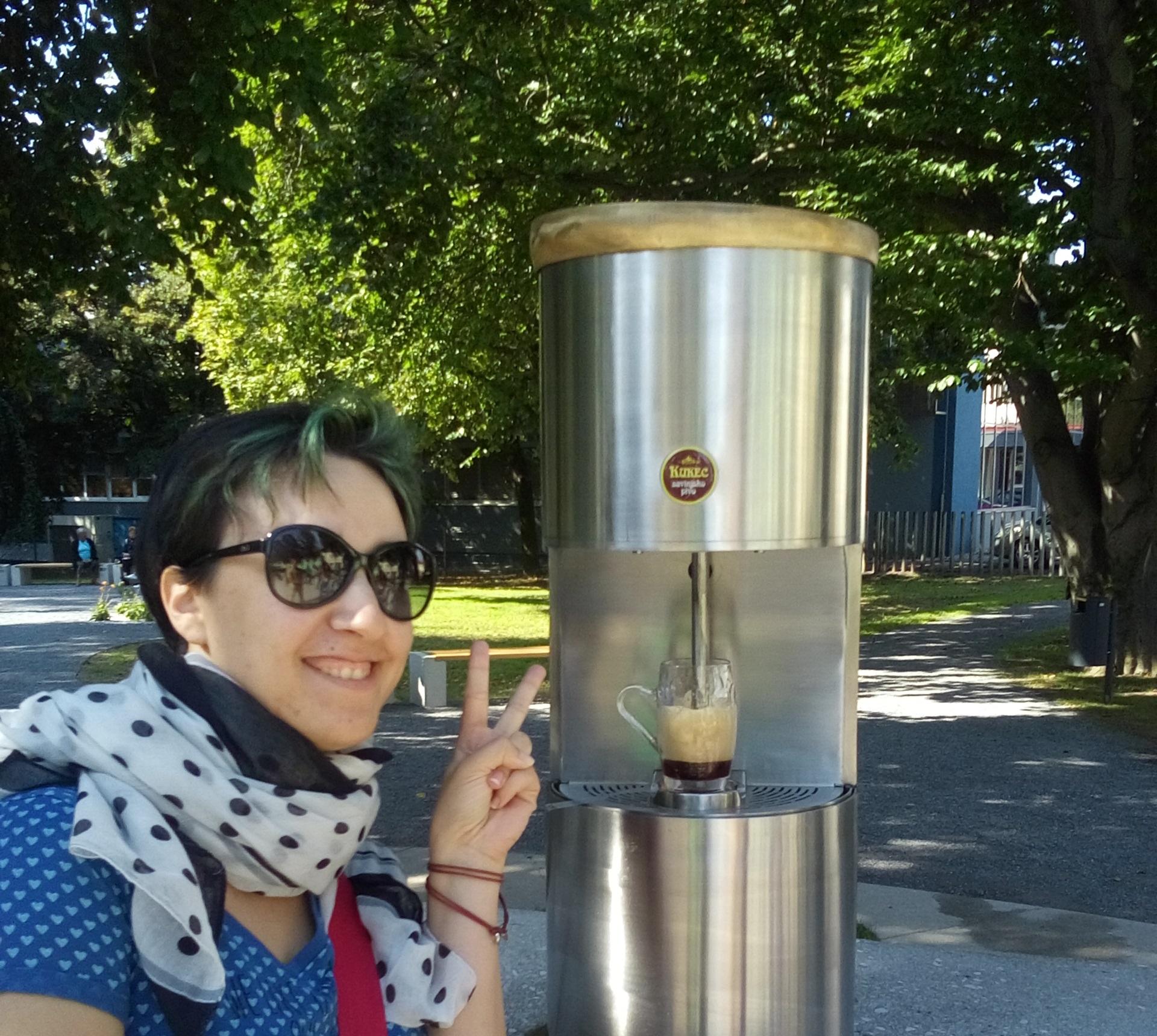 La fontana di birra di Žalec: un sogno per tutti i birrofili