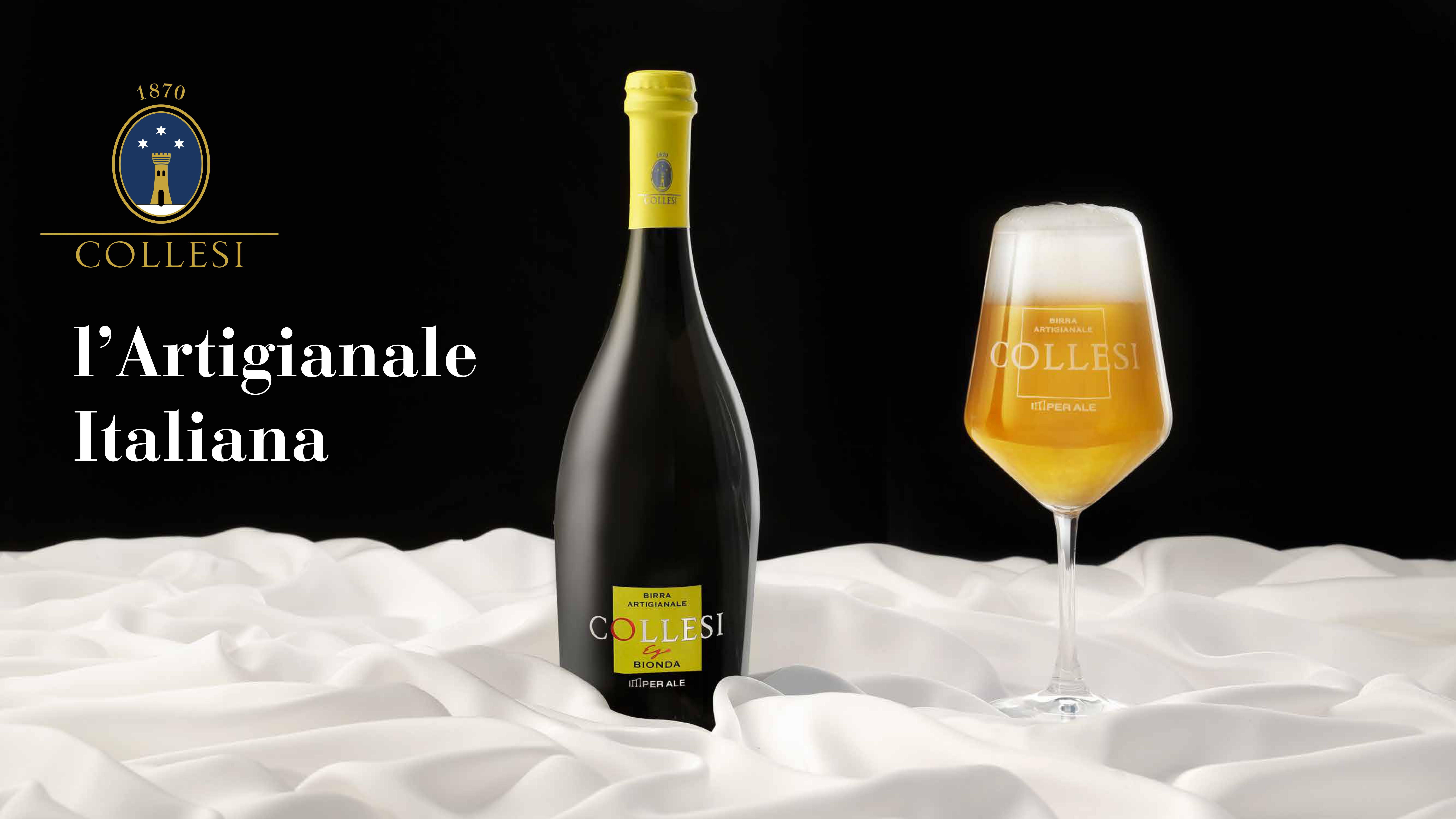 La birra artigianale va in TV: il caso di Tenute Collesi