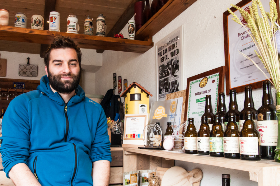 Leder: il birrificio artigianale, ispirato dal lago