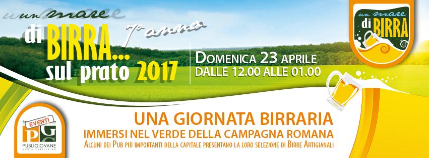 Un Mare di Birra… sul Prato: il prossimo WE a Roma