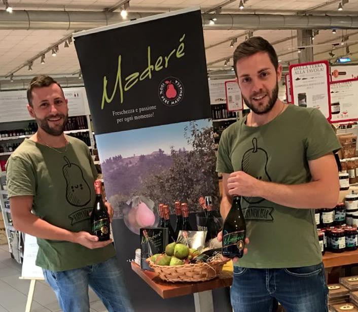 Maderé: sidro e birra da pere Madernassa, varietà autoctona del Roero
