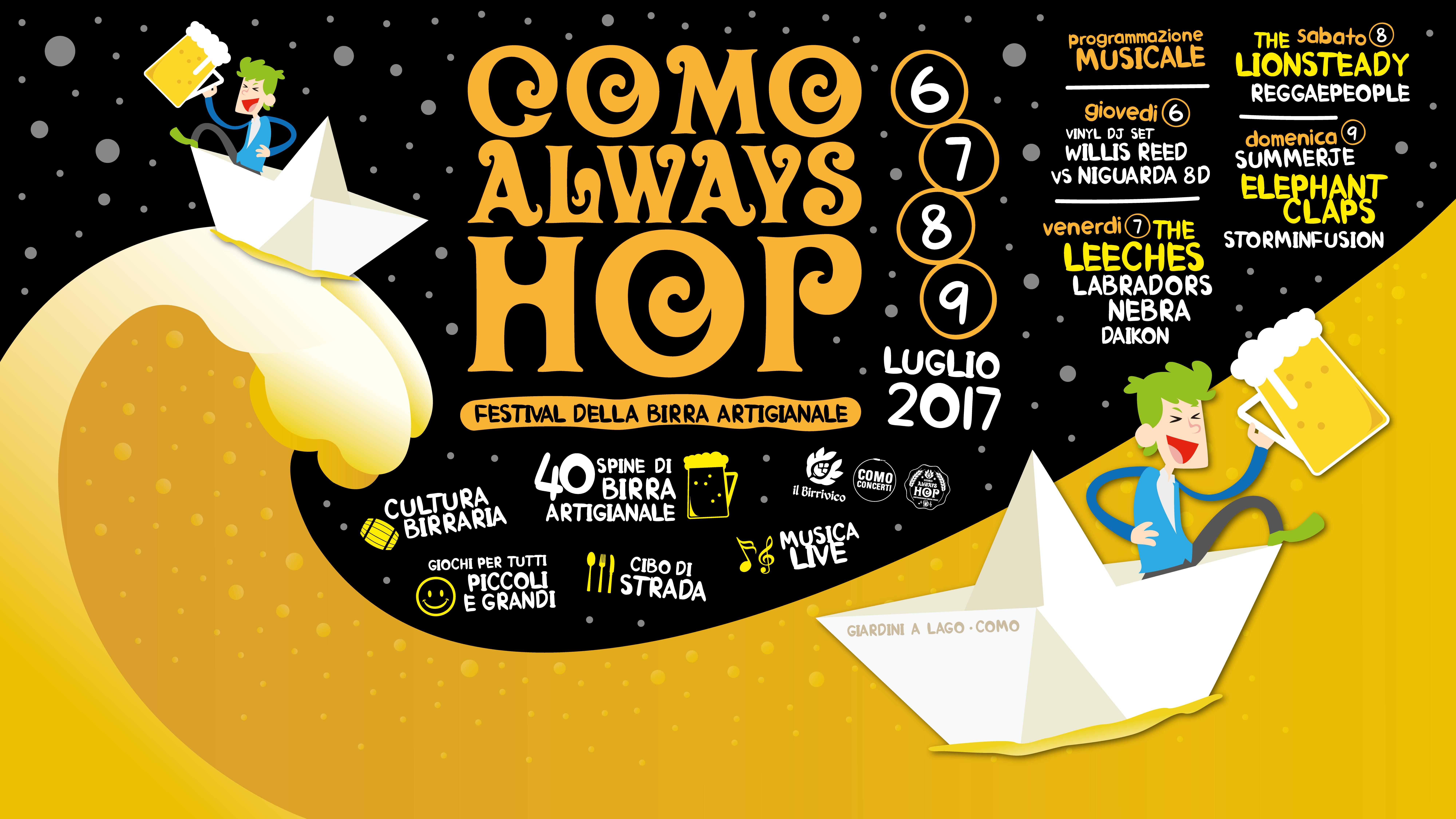 Como Always Hop: 4 giorni di kermesse a tutta birra!