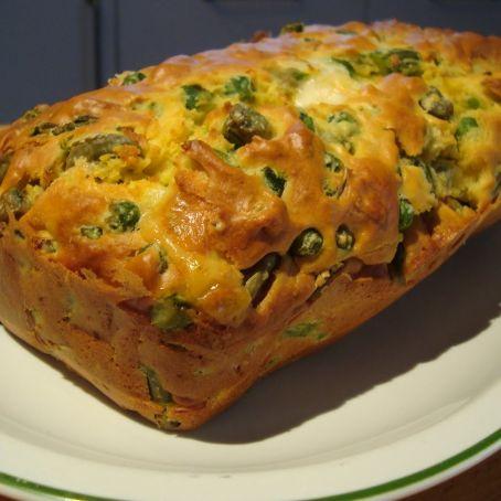Plum cake salato alle verdure di stagione e pils