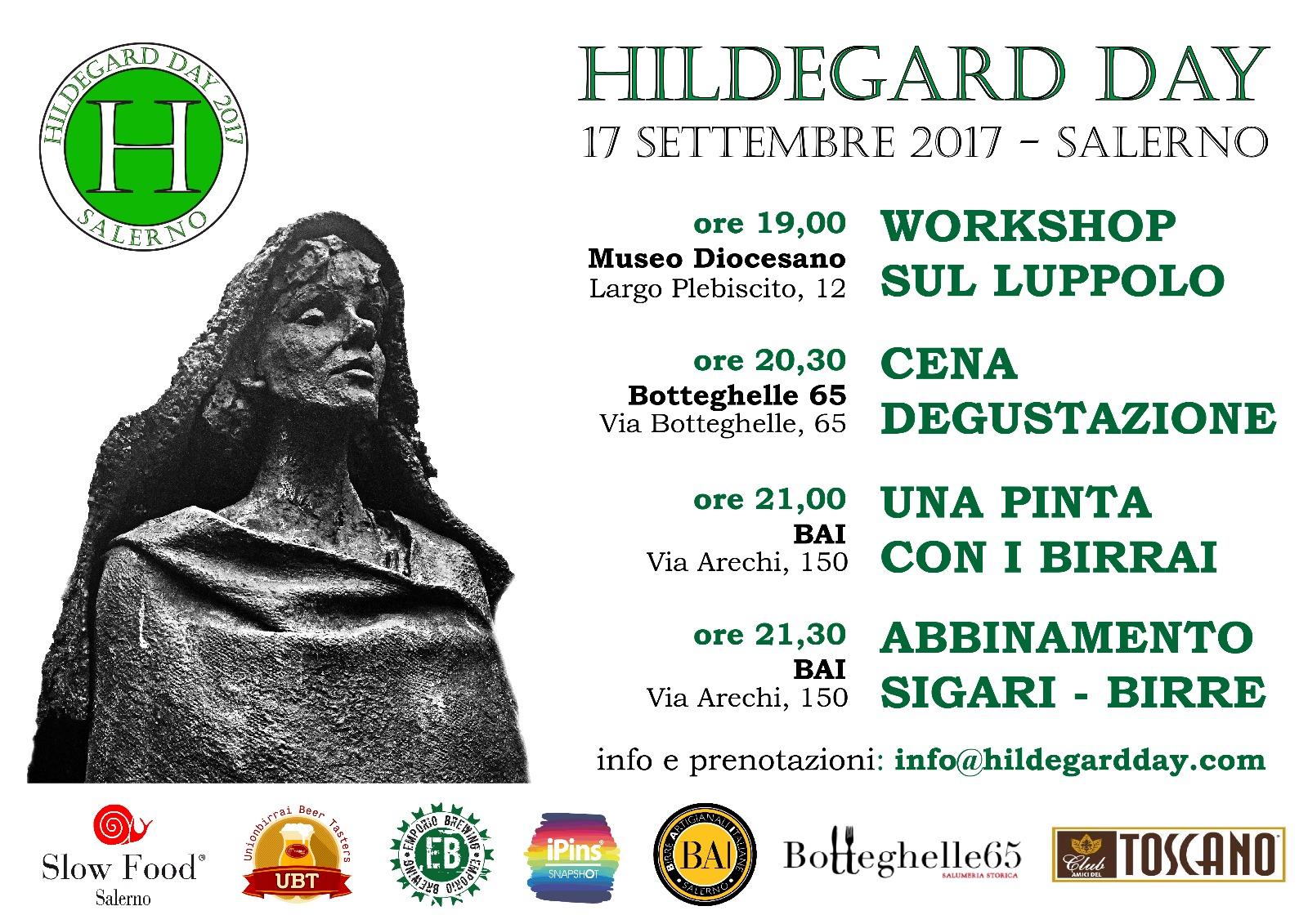 Salerno torna palcoscenico della terza edizione dell'HildegardDay