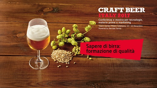 CRAFT BEER ITALY: l'evento B2B più atteso del 2017!