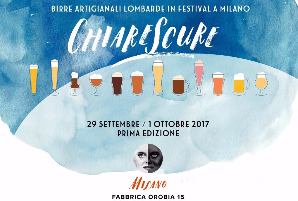 Dal 29 settembre ChiareScure, primo festival delle birre artigianali lombarde!