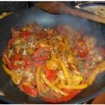 Fajitas di pollo e verdure marinate alla belgian ale