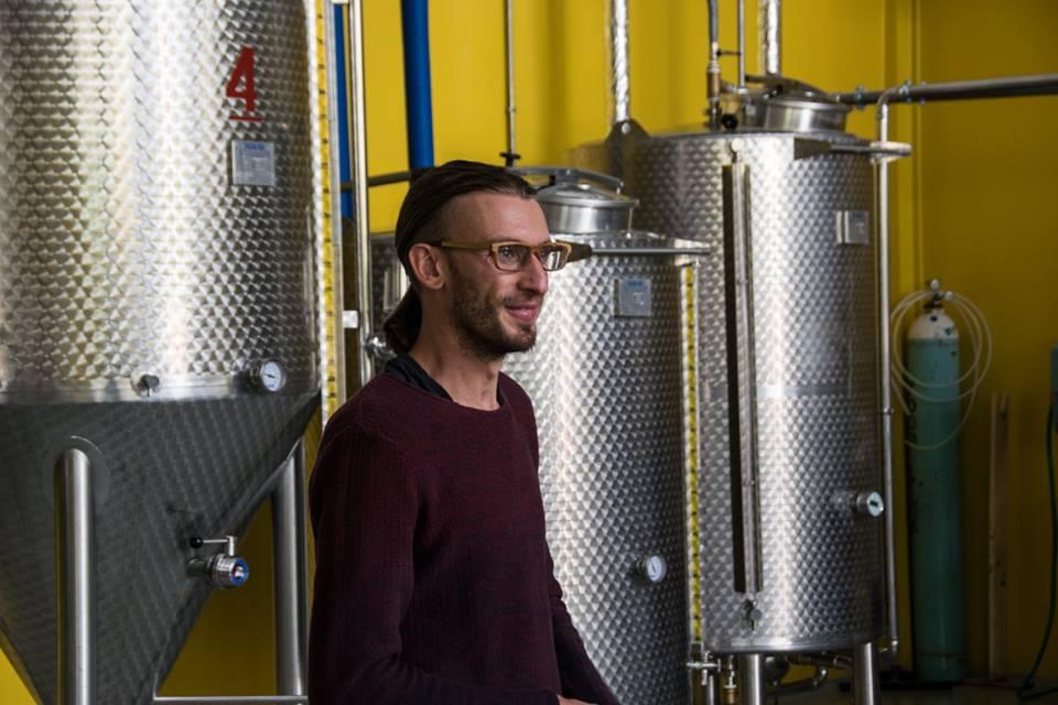 """La """"leggerezza""""  di essere birrai: l'intervista a Luca Delleani di Gravità Zero"""
