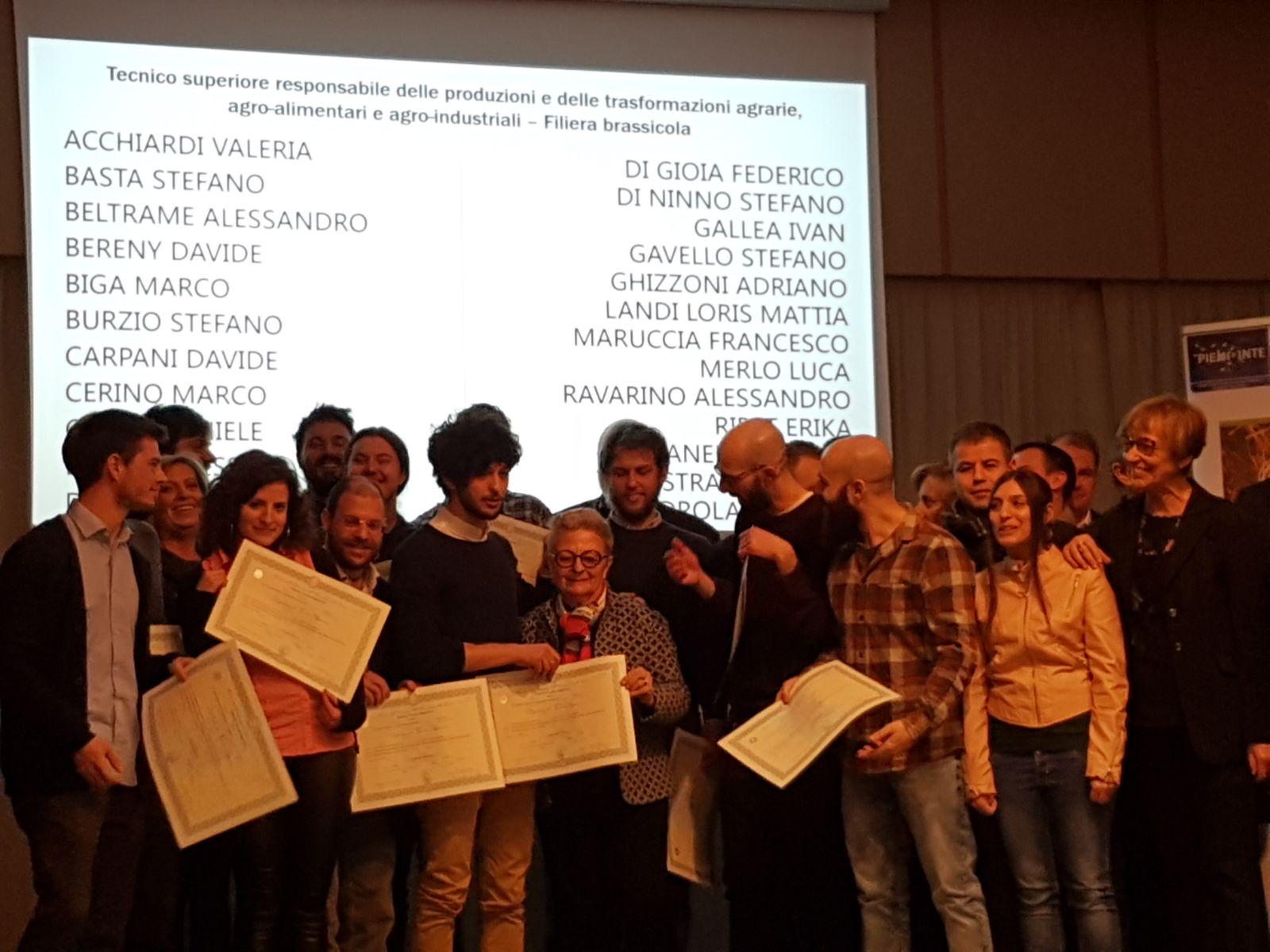 Corso Mastro birraio di Torino: consegnati oggi i Diplomi della prima edizione del corso!