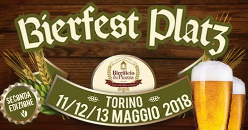 Bierfest Platz: la grande festa della birra vi attende in Piazza dei Mestrieri a Torino!