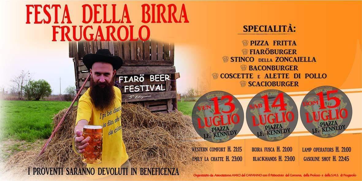 Fiarö Beer Festival: Birra e cibo di alta qualità, buona musica e allegria