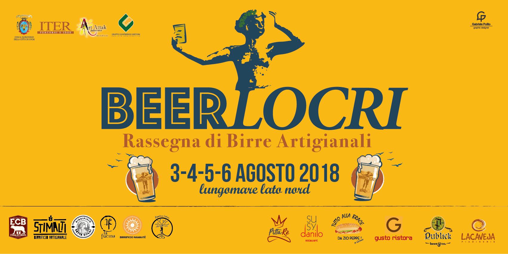 Nel Weekend torna BeerLocri!