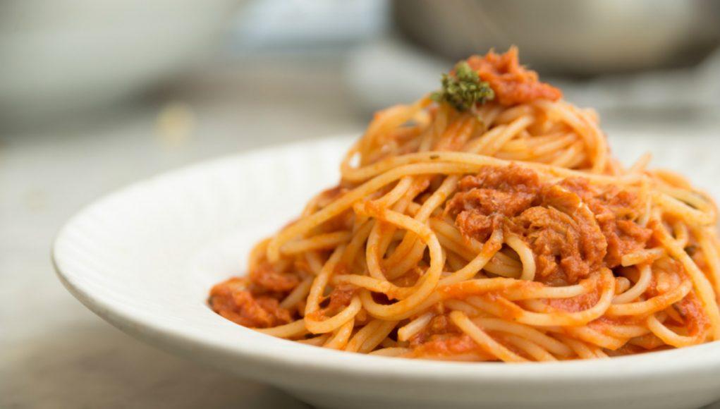 Spaghetti al ragù di merluzzo affogato alla birra