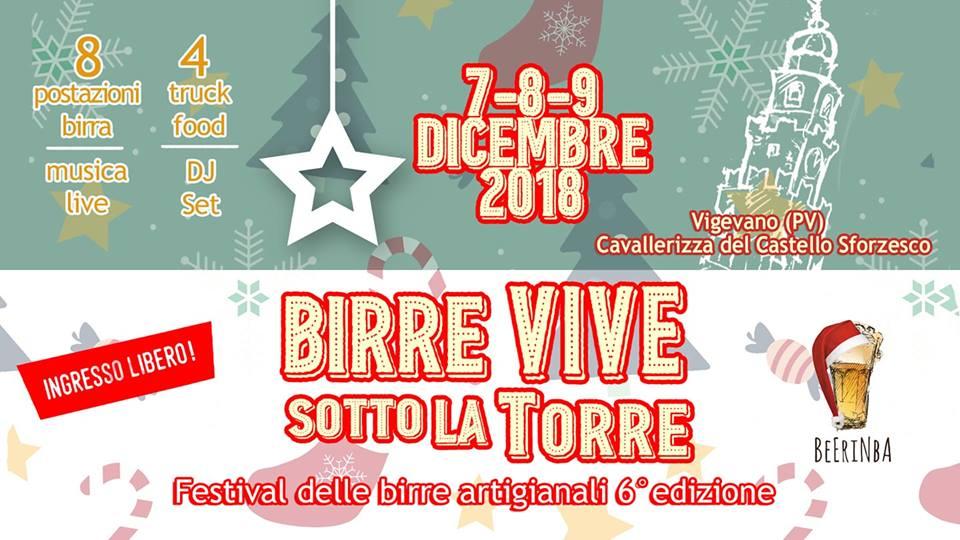 A Vigevano torna Birre Vive sotto la Torre Christmas edition!