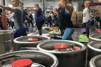 In forma con il Beer-Yoga!