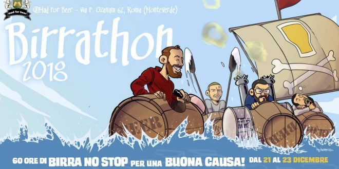 Birrathon 2018: festa di solidarietà al Mad For Beer