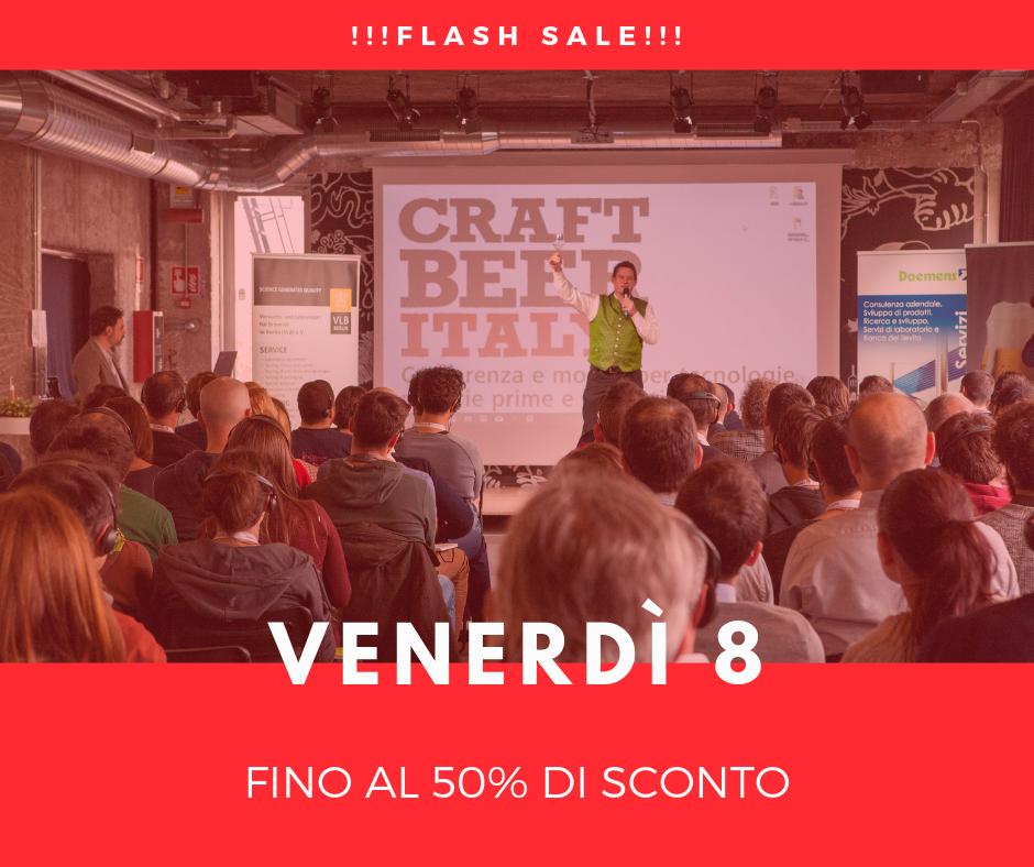 CRAFT BEER ITALY 2019: biglietti al 50% per 24 ore e grandi vantaggi per chi arriva in pullman!